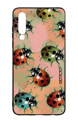 Huawei P30 WHT Two-Component Cover - Lady bugs