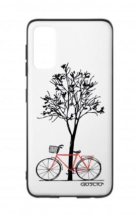 Cover Bicomponente Samsung S20 - Albero e bicicletta