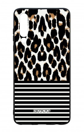 Huawei P30 WHT Two-Component Cover - Animalier & Stripes