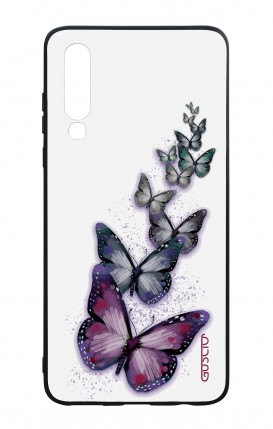 Huawei P30 WHT Two-Component Cover - Butterflies