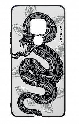 Huawei Mate20 WHT Two-Component Cover - Snake Tattoo