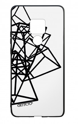 Huawei Mate20 WHT Two-Component Cover - Geometric shapes