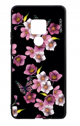 Huawei Mate20 WHT Two-Component Cover - Cherry Blossom