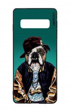 Samsung S10 WHT Two-Component Cover - English Bulldog