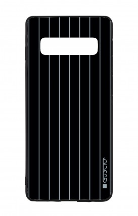 Samsung S10 WHT Two-Component Cover - Classic Stripes
