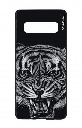 Cover Bicomponente Samsung S10 - Tigre nera