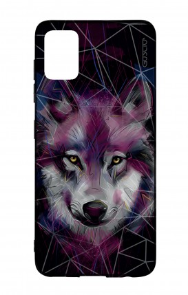 Samsung A51 Two-Component Cover - Neon Wolf
