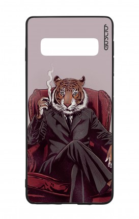 Samsung S10 WHT Two-Component Cover - Elegant Tiger