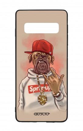 Cover Bicomponente Samsung S10 - Mastino Rap