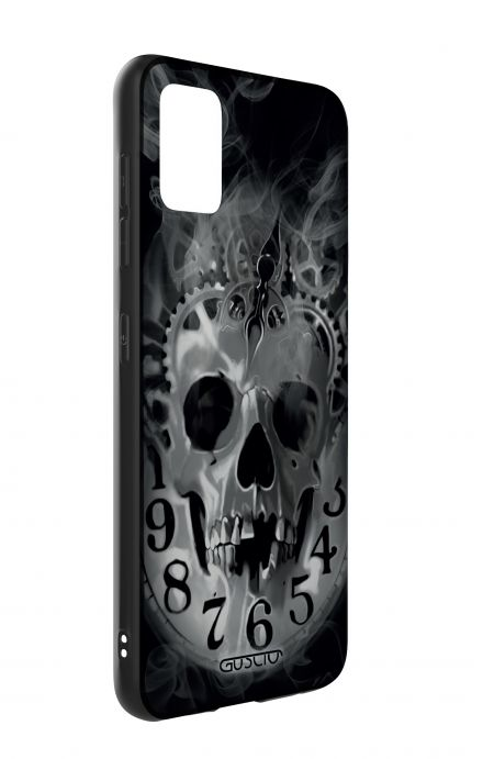 Samsung A51 Two-Component Cover - Skull & Clock