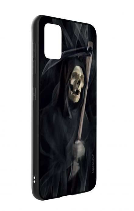 Samsung A51 Two-Component Cover - Black Death
