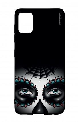 Cover Bicomponente Samsung A51 - Calavera occhi