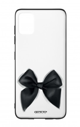 Cover Bicomponente Samsung A51 - Fiocco nero