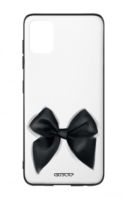 Samsung A51 Two-Component Cover - Black Bow