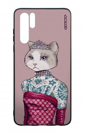 Huawei P30PRO WHT Two-Component Cover - Kitty Princess