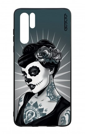Huawei P30PRO WHT Two-Component Cover - Calavera Grey Shades