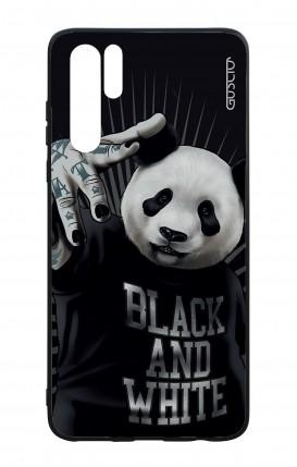 Huawei P30PRO WHT Two-Component Cover - B&W Panda