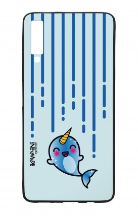 Samsung A50 WHT Two-Component Cover - Narwhal Kawaii