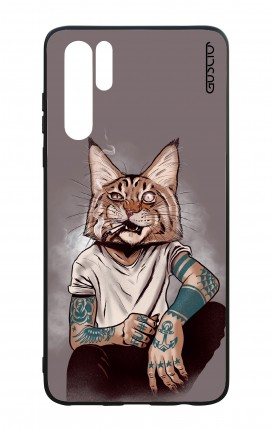 Cover Bicomponente Huawei P30PRO - Lince Tattoo