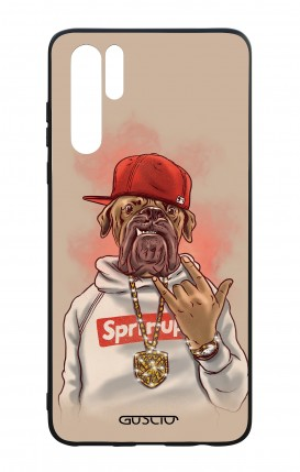 Huawei P30PRO WHT Two-Component Cover - Rap Dog