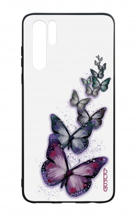 Huawei P30PRO WHT Two-Component Cover - Butterflies