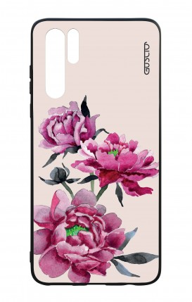 Cover Bicomponente Huawei P30PRO - Peonie rosa