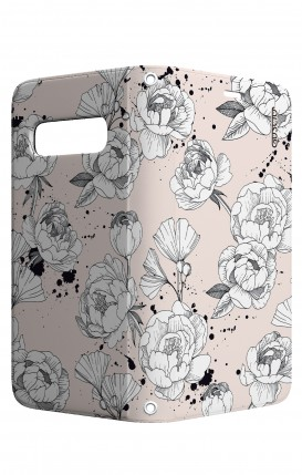 Case STAND VStyle Samsung S10 - Peonias