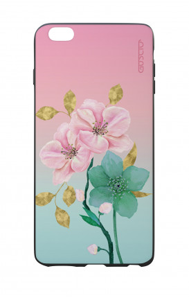 Apple iPhone 6 WHT Two-Component Cover - Pink Flowers