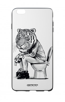 Apple iPhone 6 WHT Two-Component Cover - Tiger on WC