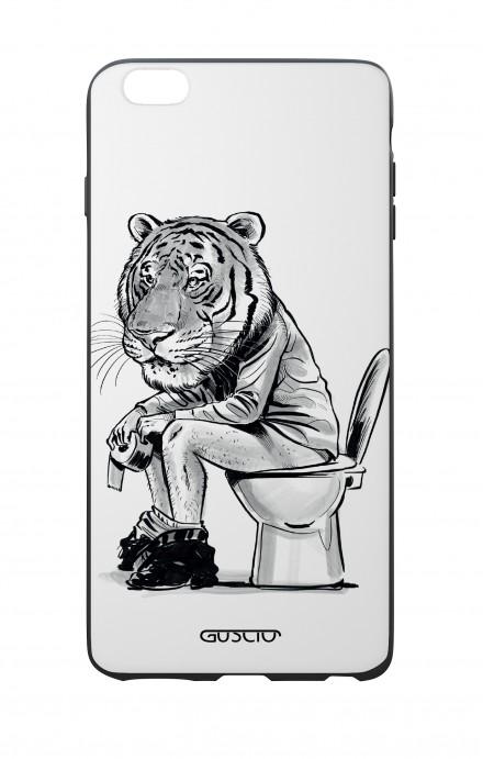 Cover Bicomponente Apple iPhone 6/6s - Tigre al cesso
