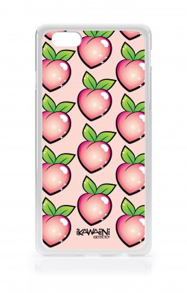 Cover Apple iPhone 6/6s - Peaches Pattern Kawaii