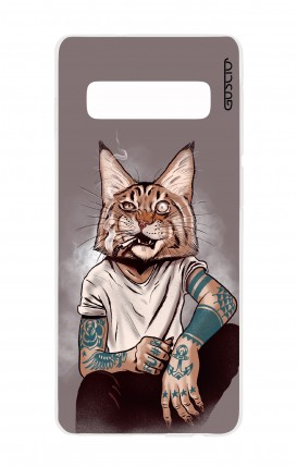 Cover Samsung S10Plus - Lince Tattoo