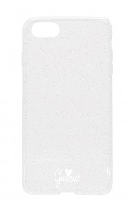 Cover Glitter Soft Apple iPhone 6/6s  - Guscio con Amore