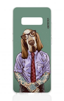 Cover TPU Samsung NOTE 8 - Bracco italiano tatuato