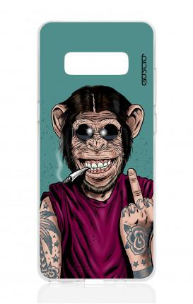 Cover TPU Samsung NOTE 8 - Scimmia felice