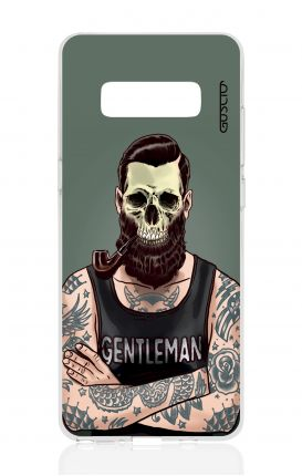 Cover TPU Samsung NOTE 8 - Teschio gentiluomo