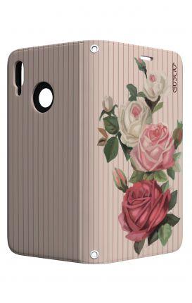 Cover STAND Samsung J7 2017 - Rose e righe