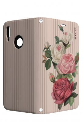 Cover STAND Samsung J7 2017 - Roses and stripes