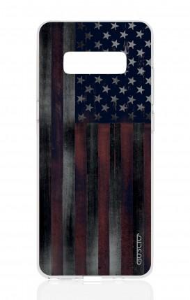 Cover Samsung NOTE 8 - Dark USA Flag
