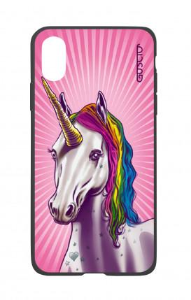 Apple iPhone X White Two-Component Cover - Magic Unicorn