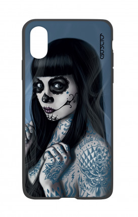 Apple iPhone X White Two-Component Cover - Mexicana