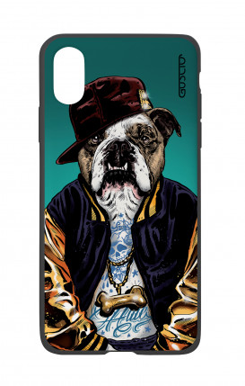 Apple iPhone X White Two-Component Cover - English Bulldog
