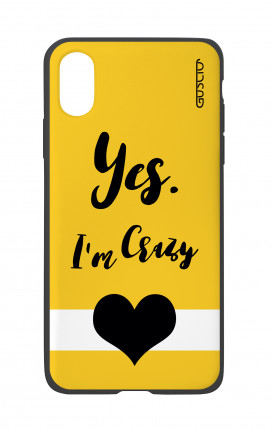 Cover Bicomponente Apple iPhone X/XS - Yes. I'm Crazy