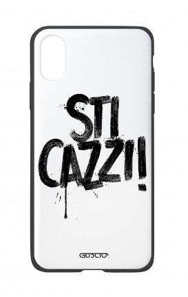 Apple iPhone X White Two-Component Cover - STI CAZZI 2