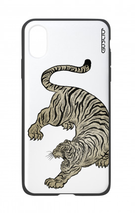 Apple iPhone X White Two-Component Cover - WHT JapanVintageTiger
