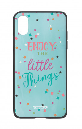 Cover Bicomponente Apple iPhone X/XS - le piccole cose azzurra