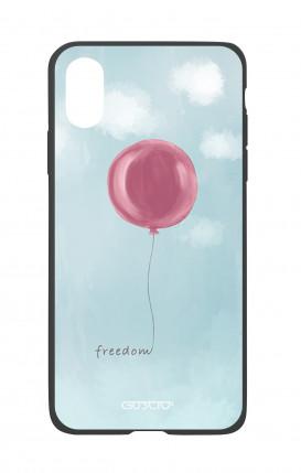 Cover Bicomponente Apple iPhone X/XS - palloncino della libertà
