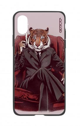 Cover Bicomponente Apple iPhone X/XS - Tigre elegante