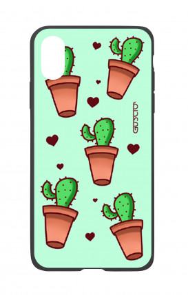 Cover Bicomponente Apple iPhone X/XS - Cactus Pattern