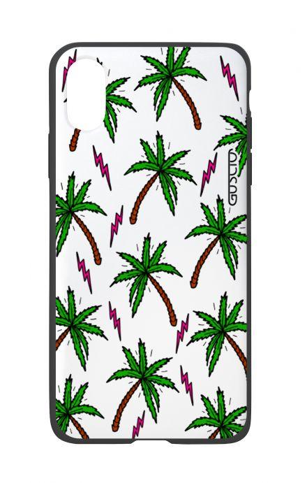 Cover Bicomponente Apple Iphone Xxs Palme E Fulmini Gusciostore